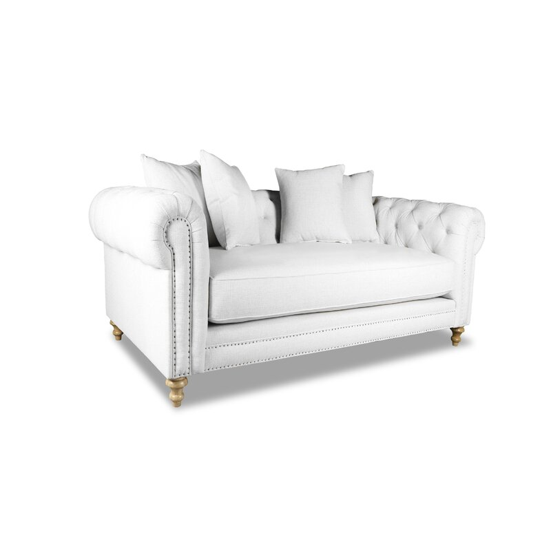 Bon Esters Plush Deep Chesterfield Sofa