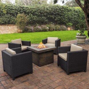Modern Contemporary Patio Furniture Fire Pit Sets Allmodern