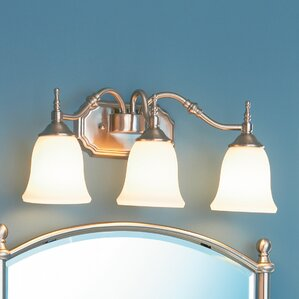 Quoizel Bathroom Lighting Fixtures quoizel bathroom vanity lighting you'll love | wayfair