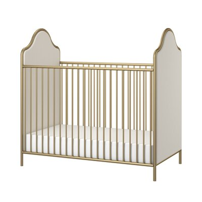 Little Seeds Piper 2-in-1 Convertible Crib Color: Gold