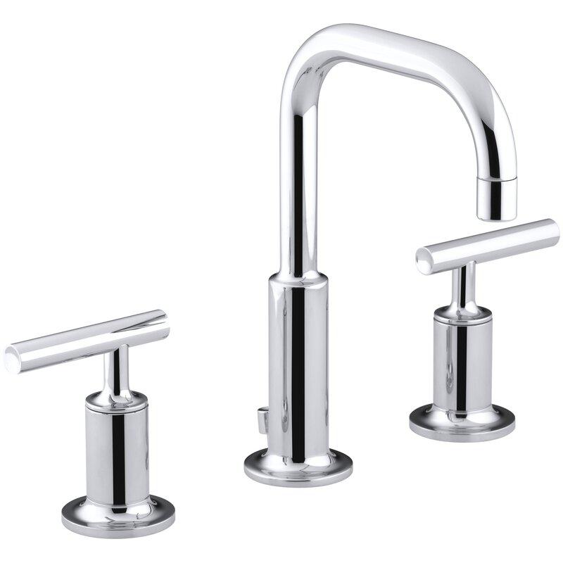 K-14406-4-BGD,BL,BN Kohler Purist Widespread Bathroom Faucet with ...
