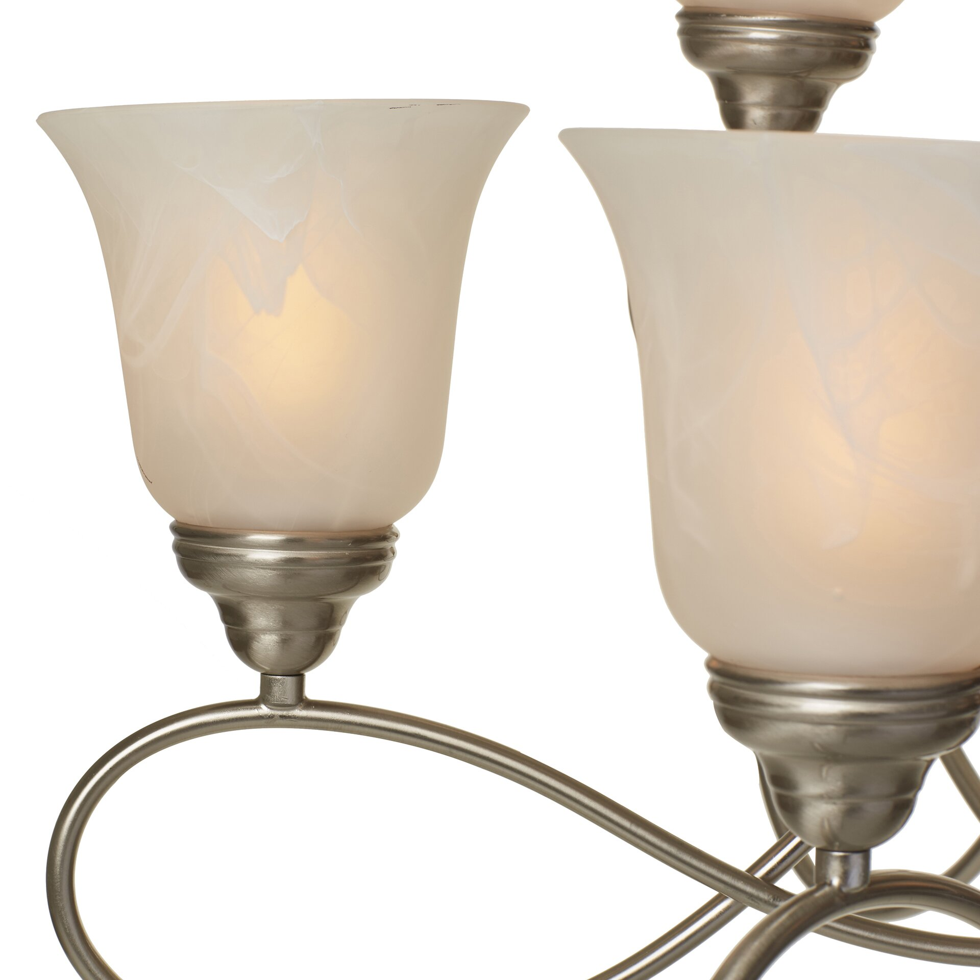 Three Posts Norwood 9-Light Shaded Chandelier & Reviews