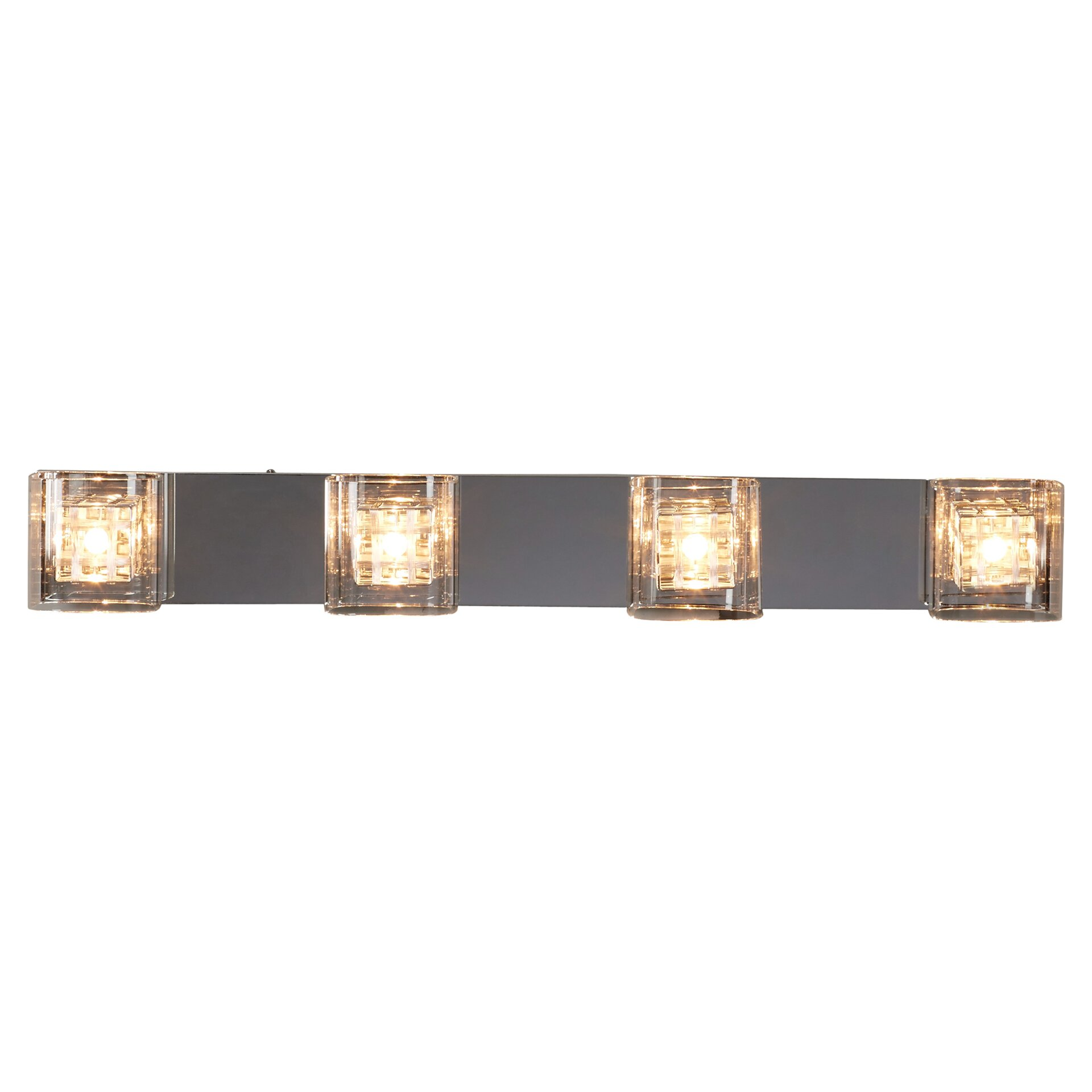 House Of Hampton Flynn Light Bath Bar  Reviews Wayfair -  fort lauderdale bathroom mirror light