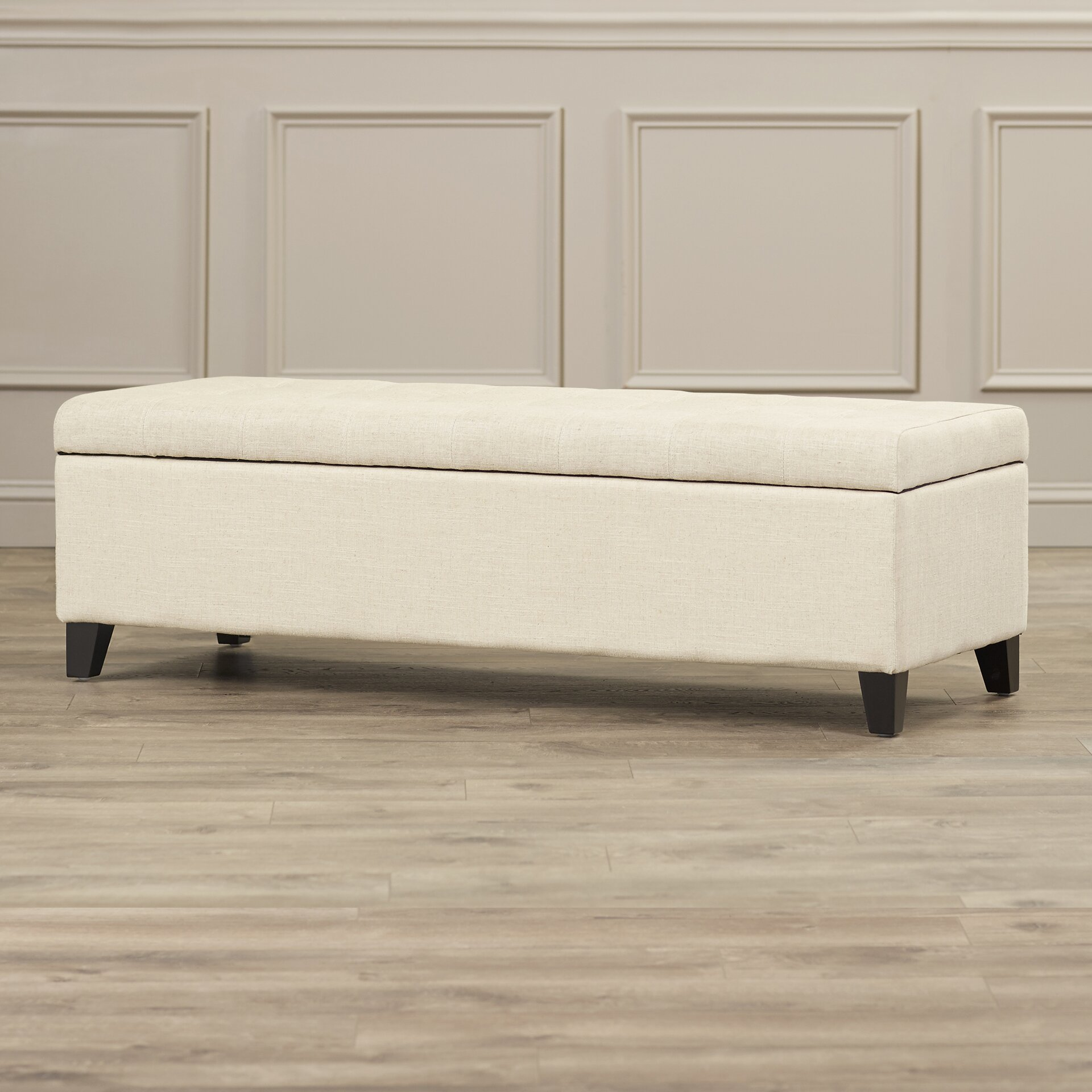Darby Home Co Foosland Tufted Upholstered Storage Ottoman