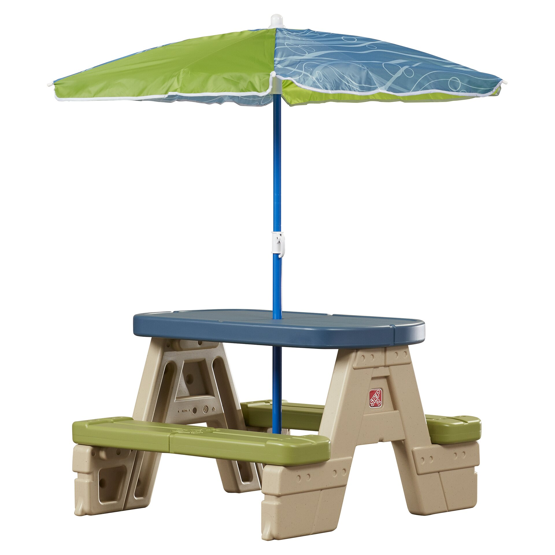 Step2 Kids Rectangle Sit And Play Picnic Table Amp Reviews