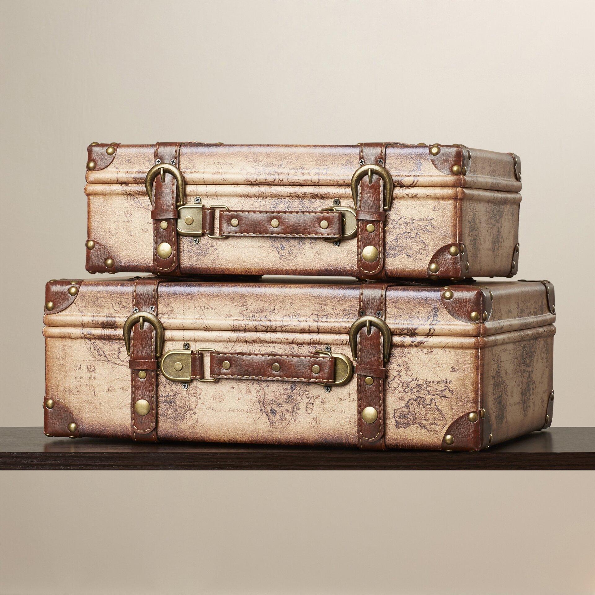 Luggage Style Furniture Vintage S Blue Samsonite Suitcase Luggage