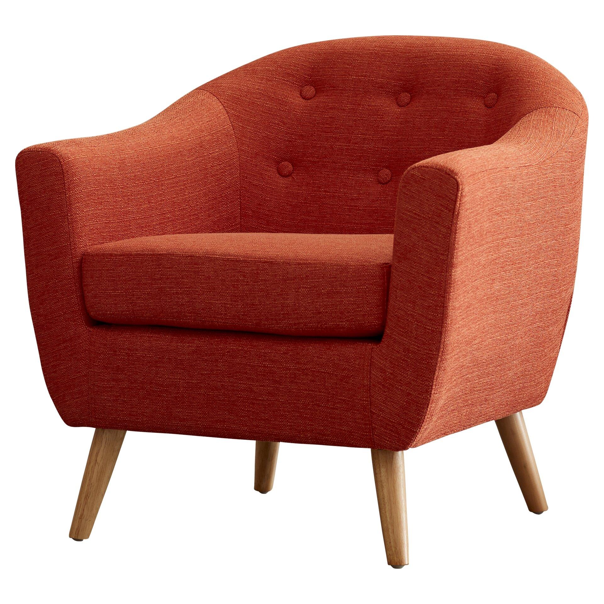Laurence Barrel Chair Amp Reviews Allmodern