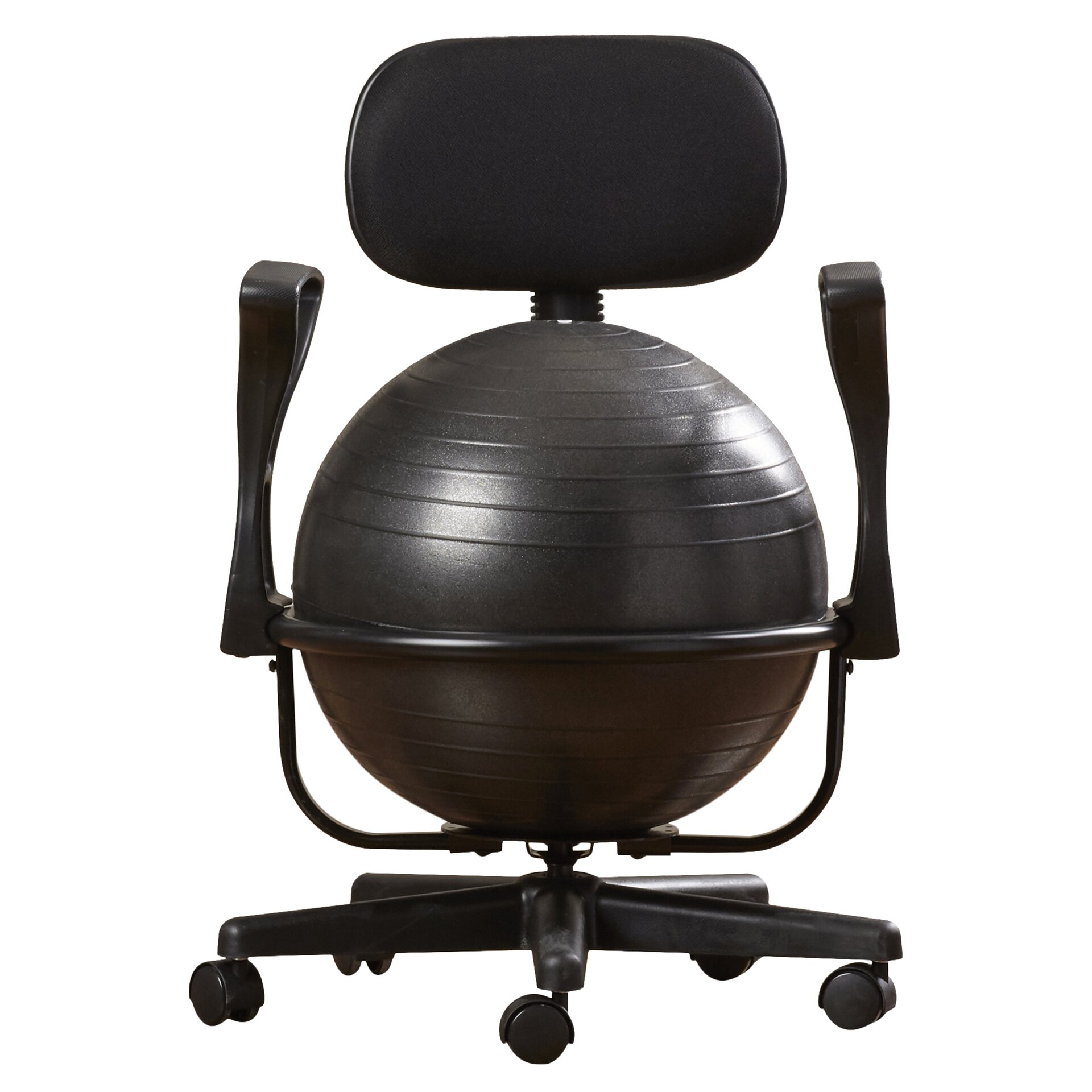 symple stuff exercise ball chair reviews wayfair supply. Black Bedroom Furniture Sets. Home Design Ideas