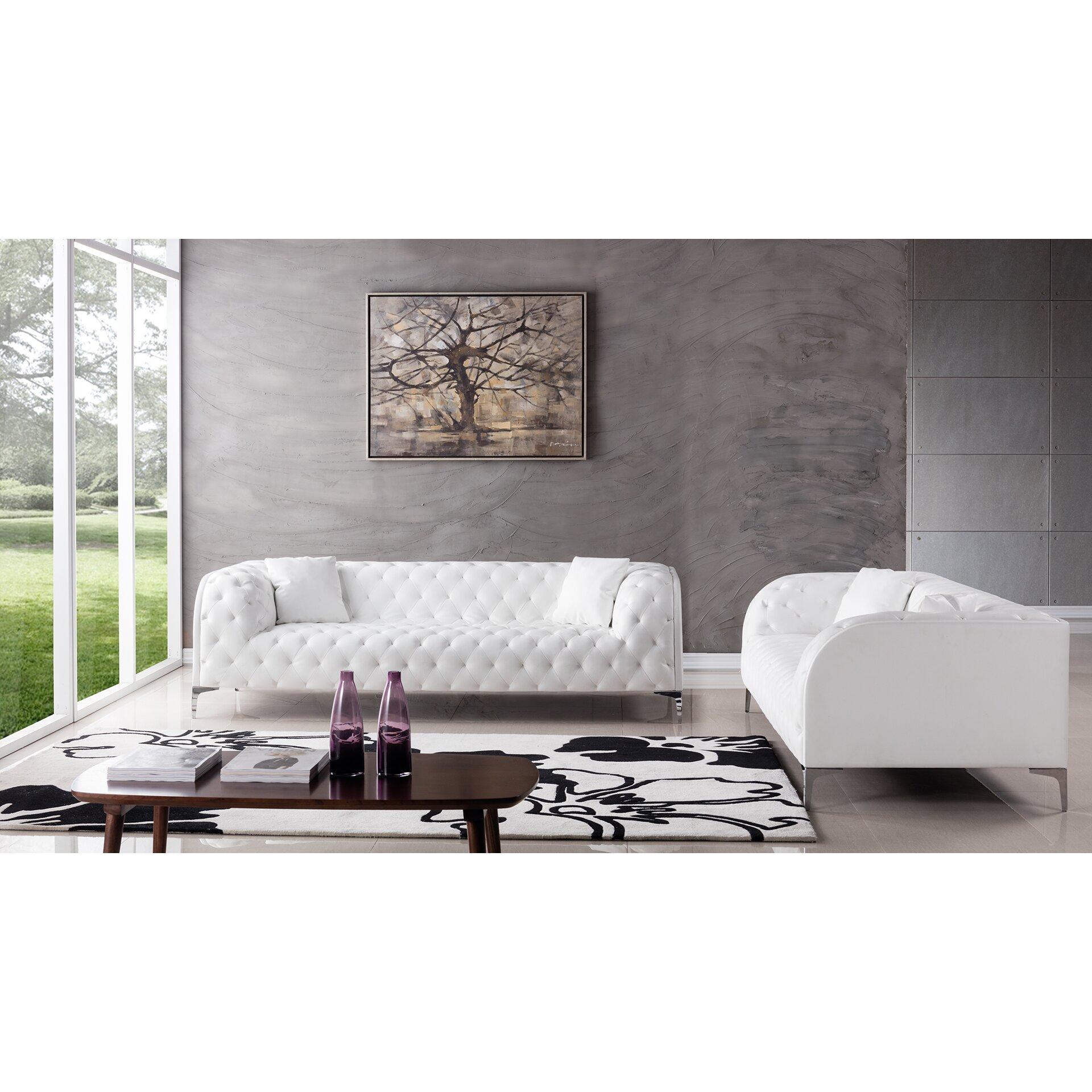 dobson 2 piece living room set allmodern