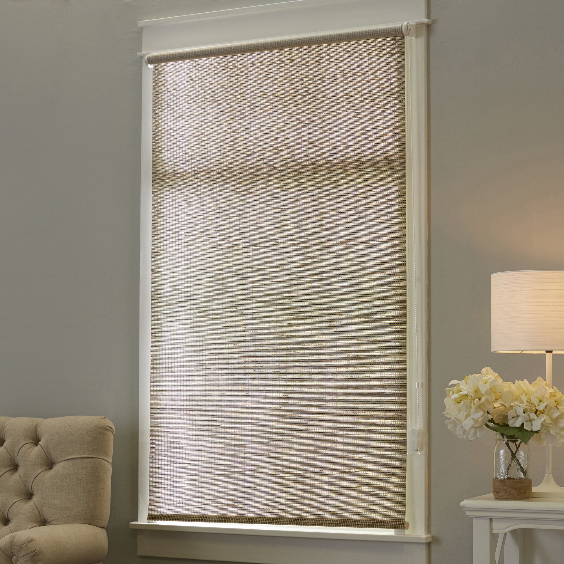 Chicology Sparks Continous Loop Privacy Roller Shade