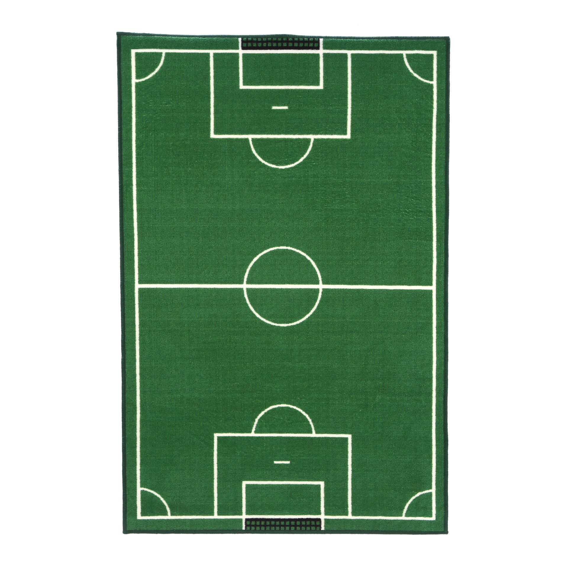 Fun Rugs Fun Time Soccer Field Sports Area Rug & Reviews