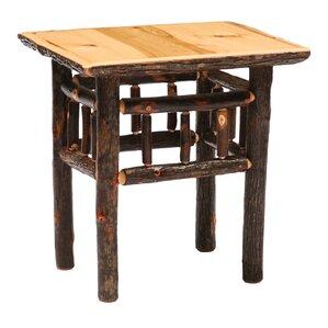 Fireside Lodge Hickory End Table Image