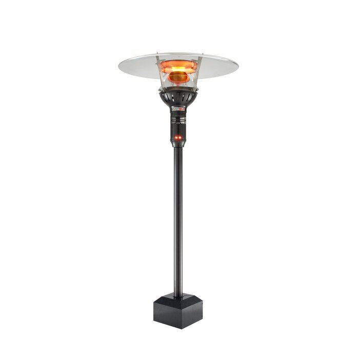 Evenglo 53 000 Btu Natural Gas Mounted Patio Heater