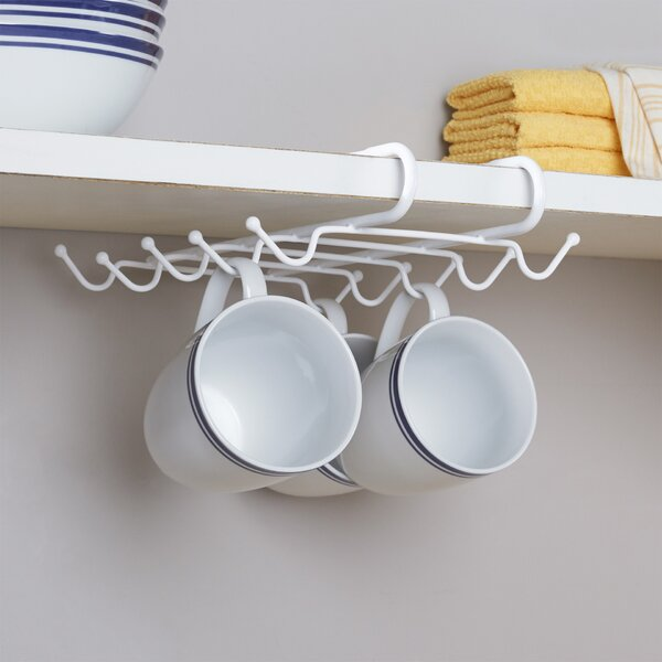 Wayfair Basics Wayfair Basics Under Shelf Mug Rack