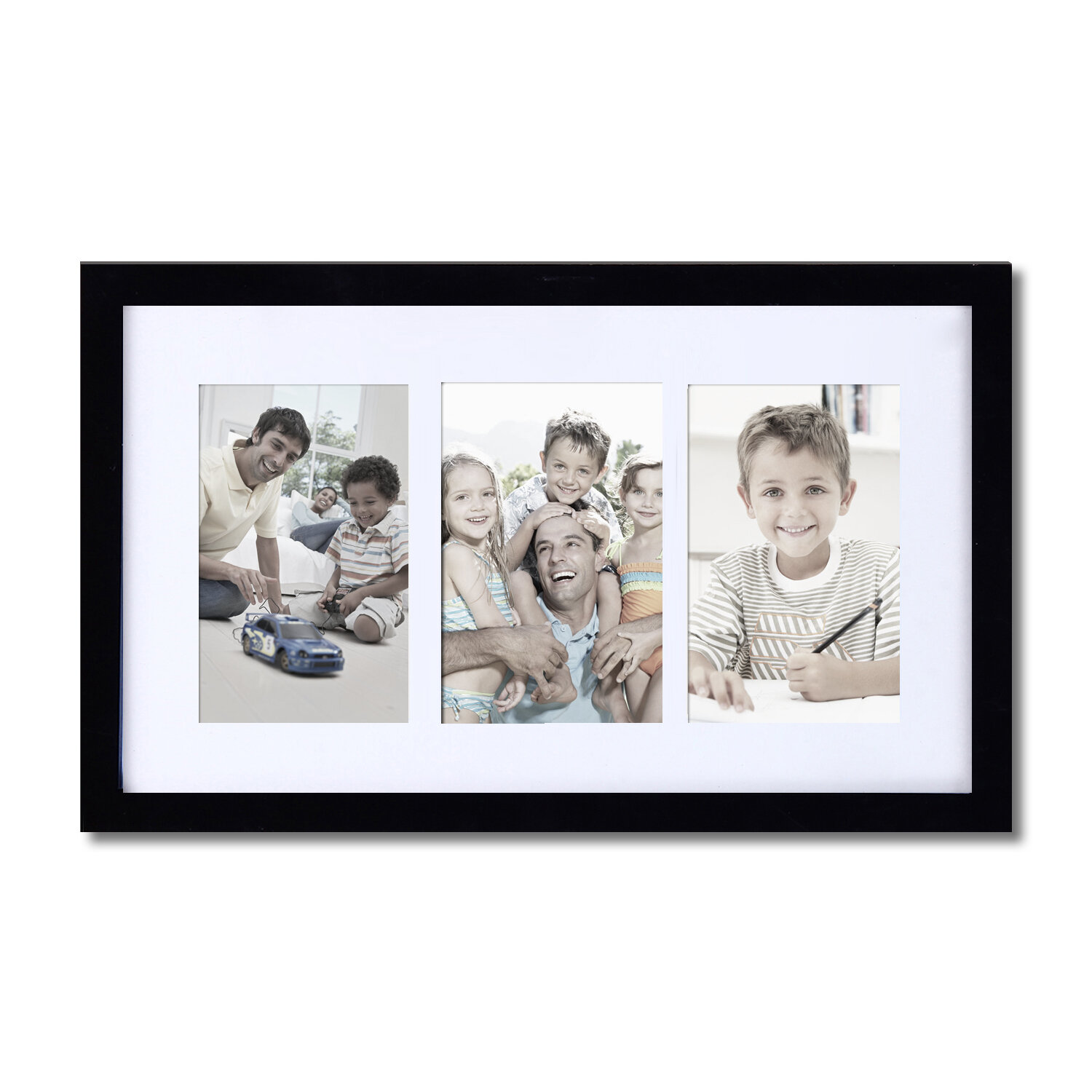 Homebeez 3 Slot Picture Frame | Wayfair