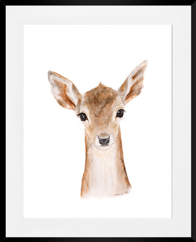 'Fawn' by Brett Blumenthal Framed Painting Print