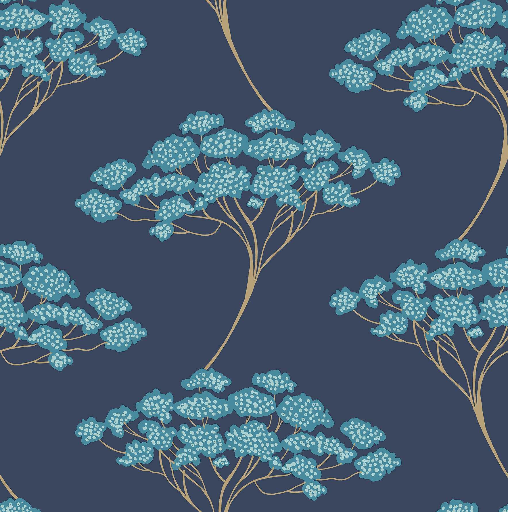 Brewster Home Fashions Azmaara 33 X 205 Banyan Tree Wallpaper