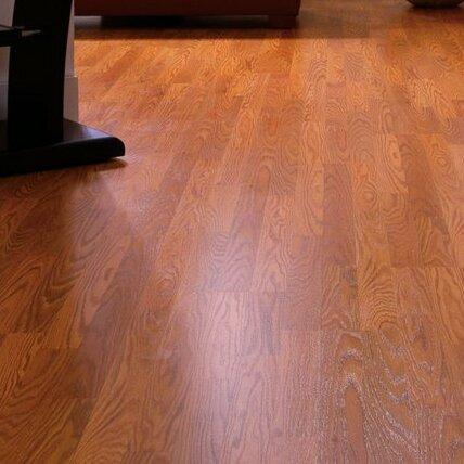 Mohawk Genova 6 X 54 X 8mm Oak Laminate Flooring In Cinnamon Oak