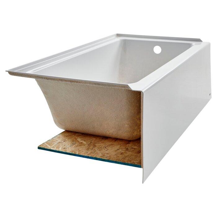 American Standard Studio Acrylic 60 X 30 Alcove Soaking Bathtub
