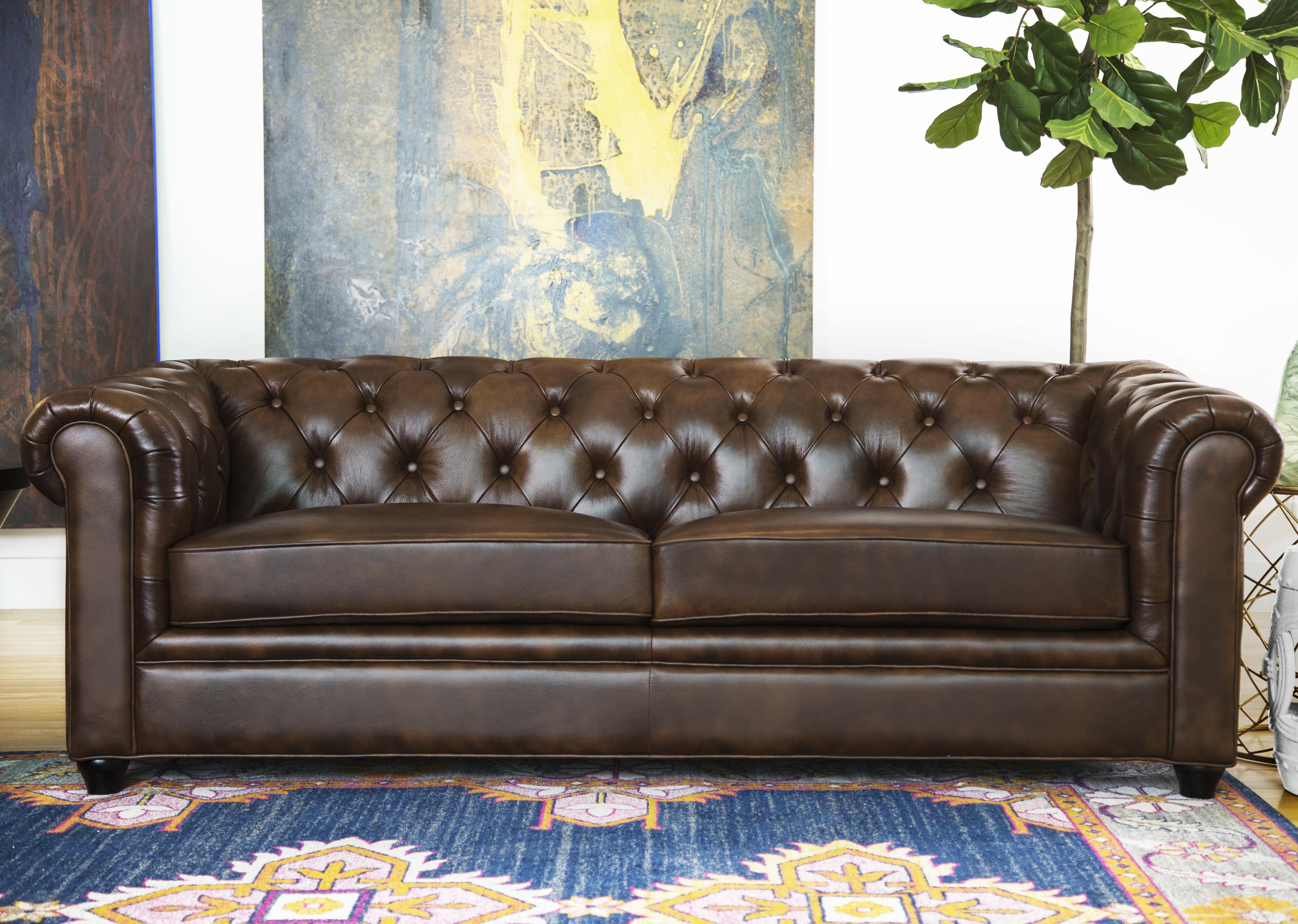 Cleaning 101: How to Clean a Leather Sofa | Wayfair