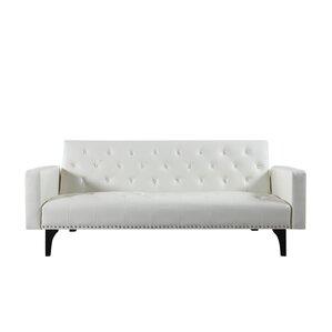 modern tufted sleeper sofa