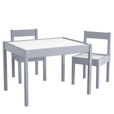 Mack & Milo Ramona 3 Piece Rectangular Writing Table and Chair Set
