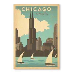 Chicago Windy City Vintage Advertisement