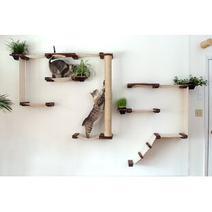 wall mounted cat trees  u0026 condos wall mounted cat trees  u0026 condos you u0027ll love   wayfair  rh   wayfair