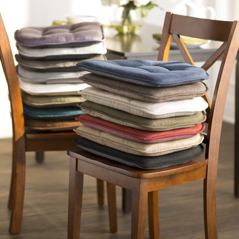 Wayfair Basics Tufted Gripper Chair Cushion