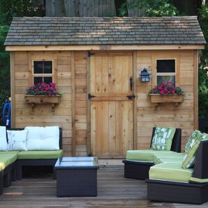 Garden Sheds 9 X 5 storage sheds you'll love | wayfair
