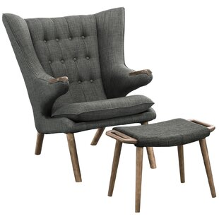 Merveilleux Bear Lounge Chair And Ottoman Set