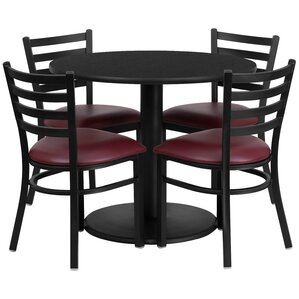Peng 5 Piece Dining Set by Red Barrel Studio