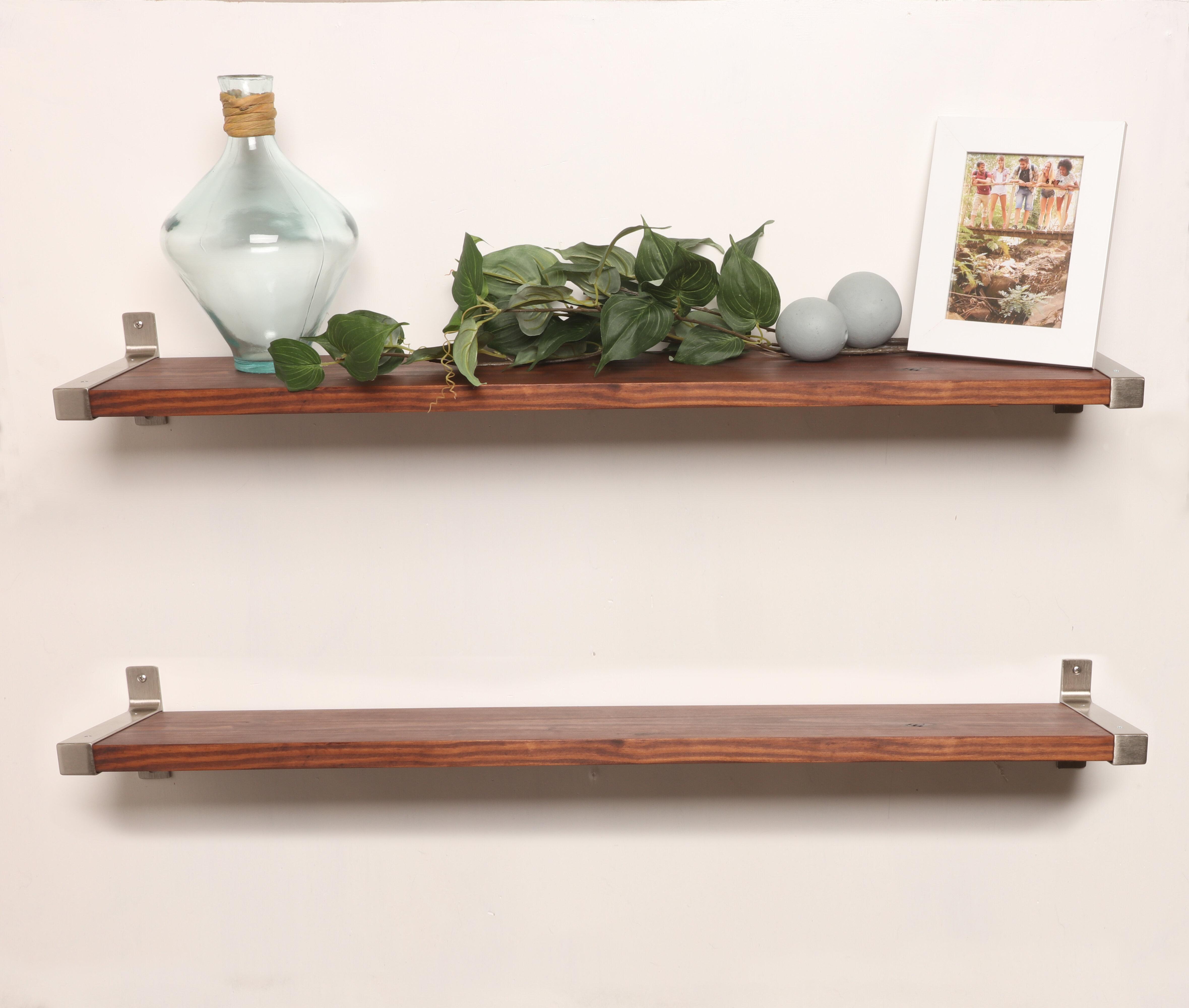 Euan Bedroom Design | Gracie Oaks Euan 2 Piece Wall Shelf Wayfair