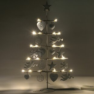metal christmas tree light lamp