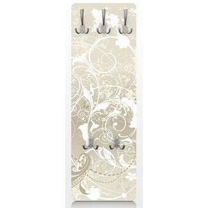 Wandgarderobe Perlmutt Ornament Design