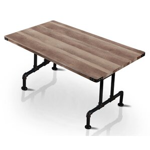 Deidra Industrial Dining Table by Trent Austin Design