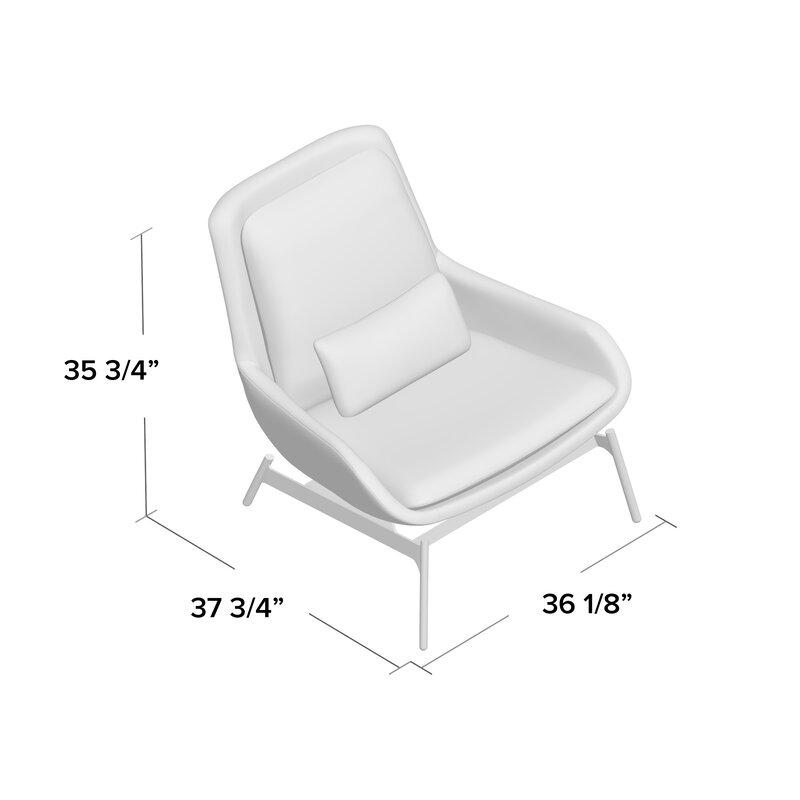 Blu Dot Field Lounge Chair Amp Reviews Wayfair Ca