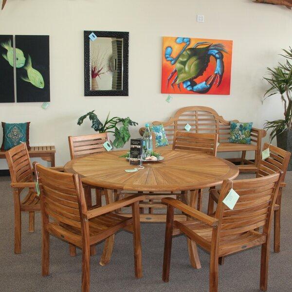 ChicTeak Sun Teak Dining Table U0026 Reviews   Wayfair