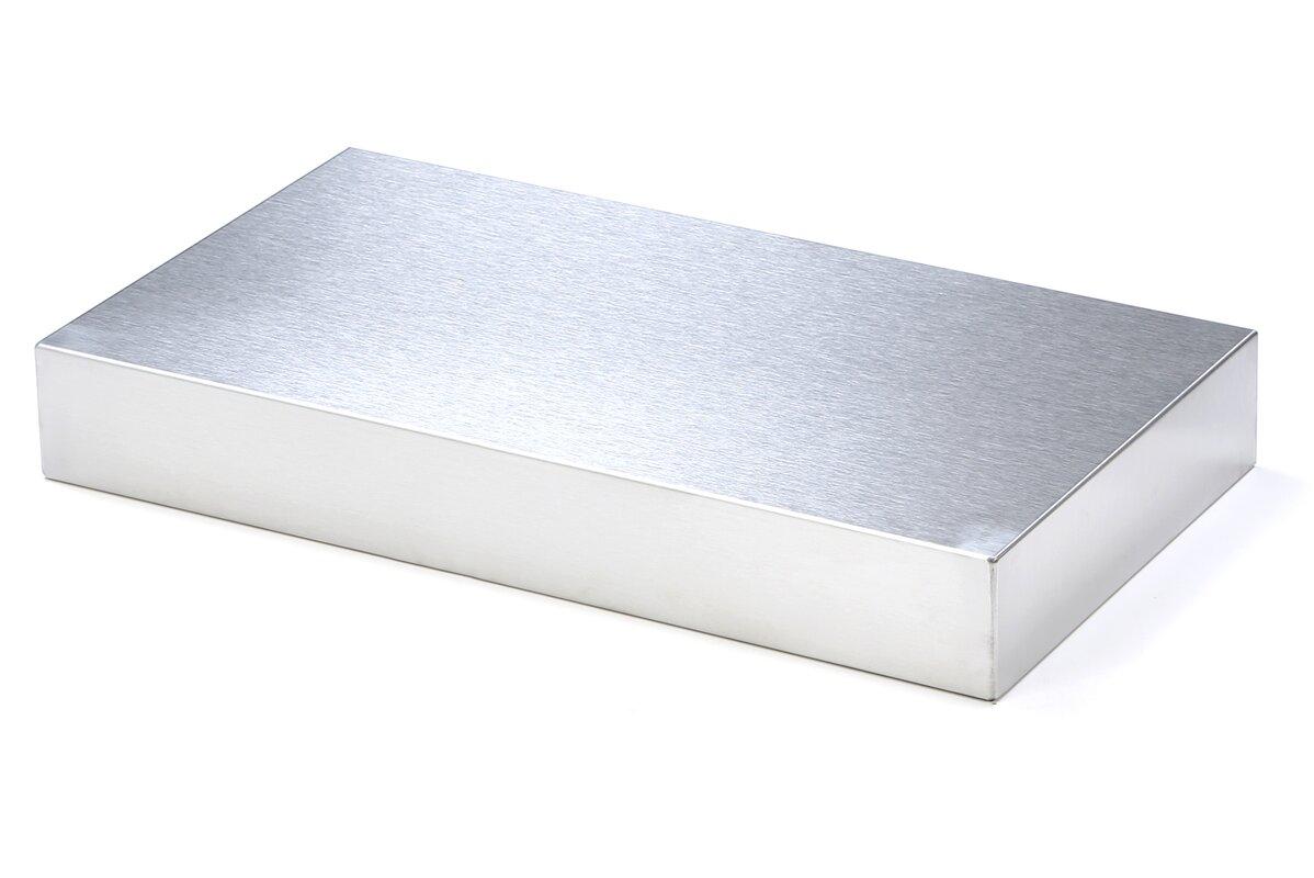 Dorfman Stainless Steel Floating Shelf
