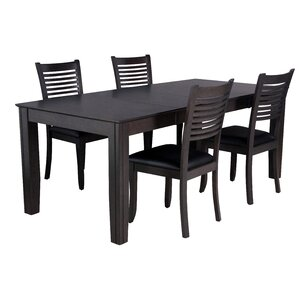Charlotte 5 Piece Dining Set by TTP Furnish