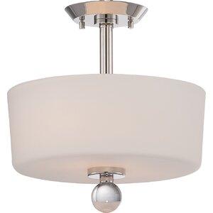 Gace 2-Light Semi Flush Mount