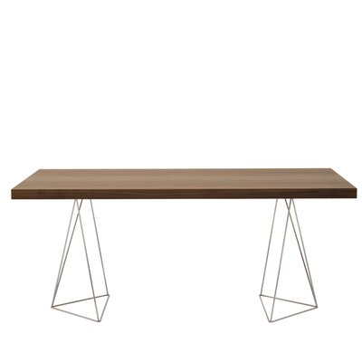 Brayden Studio Durkee Dining Table Color: Walnut, Size: 71