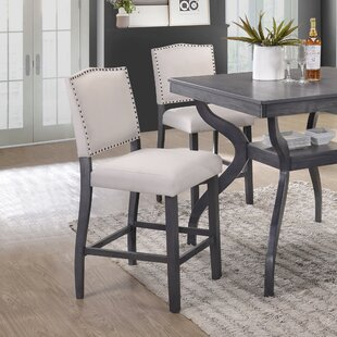 Palmyra Counter Height Upholstered Dining Chair (Set of 2)