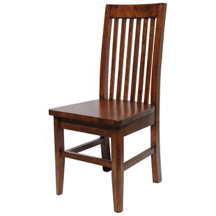 Yorba Linda Pine Slat Back Side Chair (Set of 2)