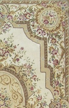 American Home Rug Co French Elegance Aubusson Floral Hand
