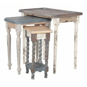 Berniss 3 Piece Nesting Tables by Bloomsbury..