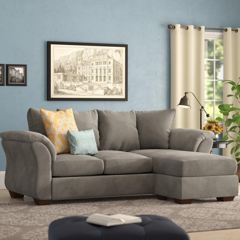 Sectional Sofa In Huntsville Al: Alcott Hill Huntsville Reversible Sectional & Reviews