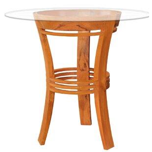 Half Moon Solid Wood Bar Table