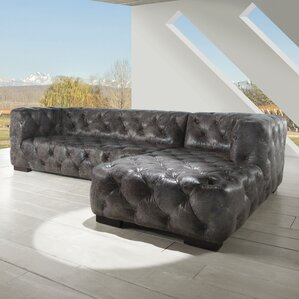 Manhattan Reversible Sectional by Lazzaro Le..