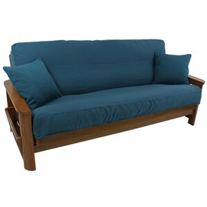 Premium Box Cushion Futon Slipcover by Blazing Needles